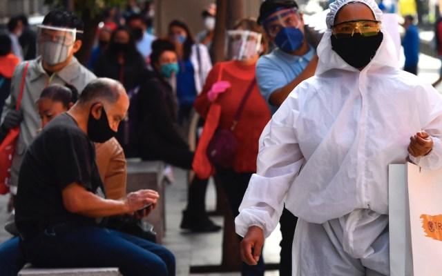 COVID-19 en México: aumentan en los últimos siete días muertes diarias por millón de habitantes - Foto de EFE