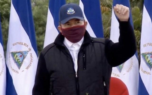 #Video Reaparece Daniel Ortega utilizando cubrebocas - Foto de La Lupa Press Nicaragua