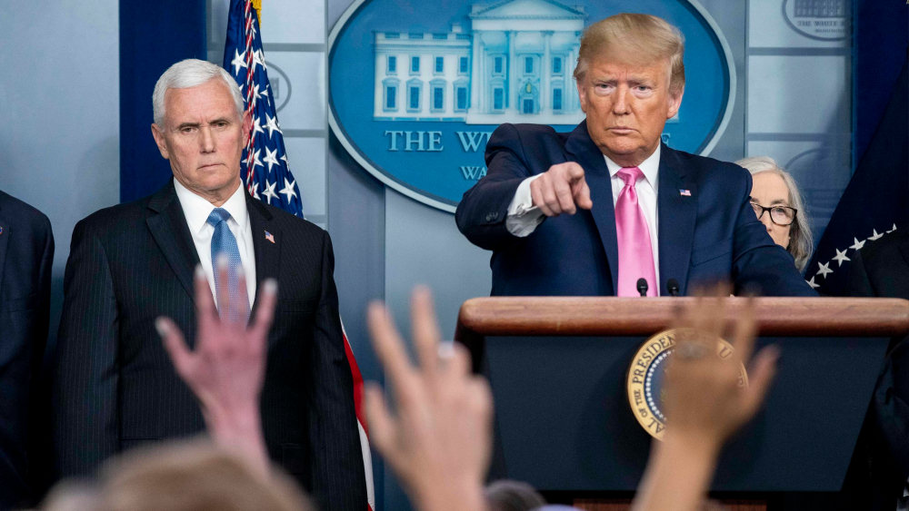 Trump influyó en el retroceso global de la libertad de prensa: relator de ONU - Foto de The White House