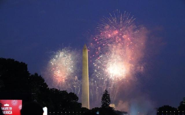 #Fotos EE.UU. celebra su independencia en medio de la pandemia y la división política