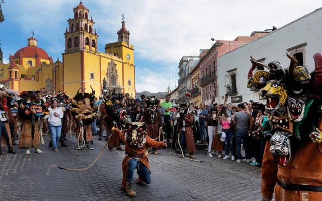 Festival Cervantino celebrará edición 48 en formato digital - Edición 47 del Festival Cervantino en calles de Guanajuato. Foto de @Cervantino