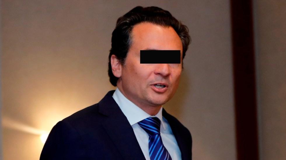 Lozoya solicita prórroga de 30 días más para comparecer - Foto de EFE