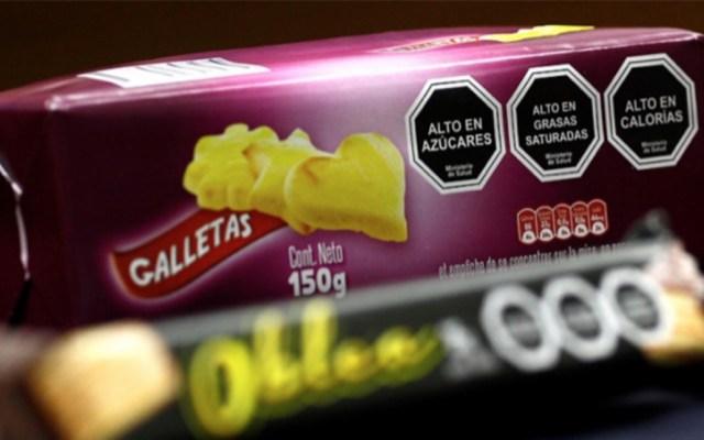 OMS premia a Secretaría de Salud por etiquetado frontal - Etiquetado frontal productos alimentos