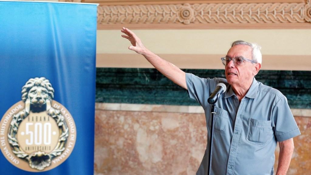 Murió, a los 77 años, Eusebio Leal, historiador de La Habana - Foto de EFE