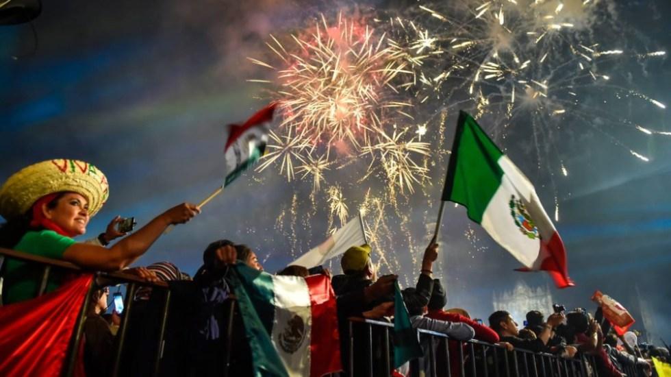 Propone AMLO 'Grito' en el Zócalo con 500 personas y protocolos sanitarios - Foto de lopezobrador.org.mx