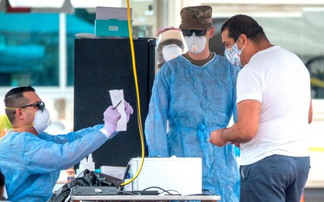Florida supera a Nueva York con más de 414 mil casos de la COVID-19 - Foto de EFE