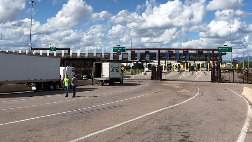 Restringirán en Sonora cruce en frontera con Estados Unidos - Foto de Google Maps