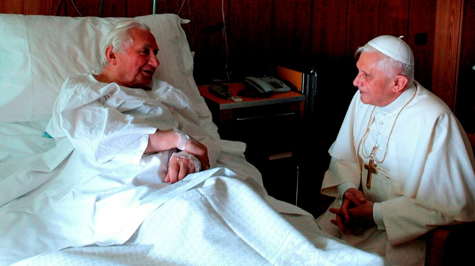 Murió Georg Ratzinger, hermano del papa emérito Benedicto XVI - Georg Ratzinger