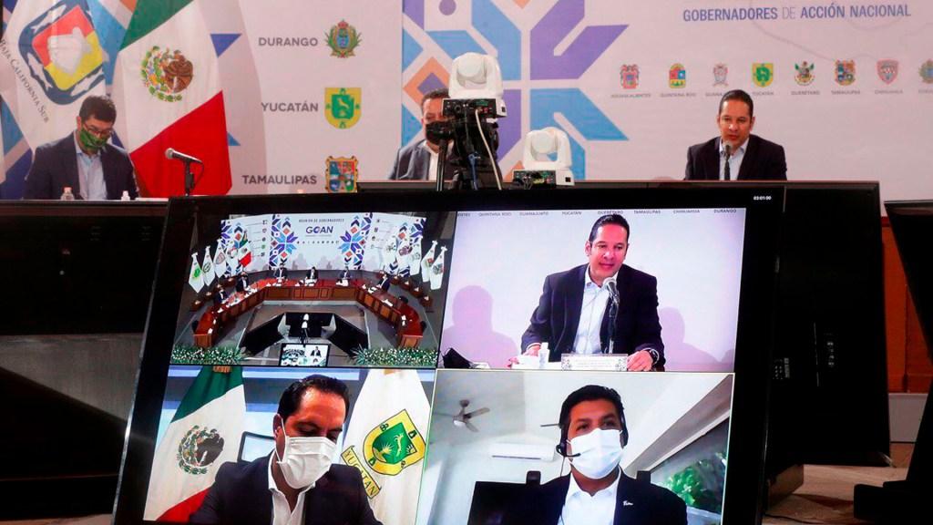 Gobernadores del PAN piden estrategia conjunta con gobierno federal ante COVID-19 - gobernadores PAN
