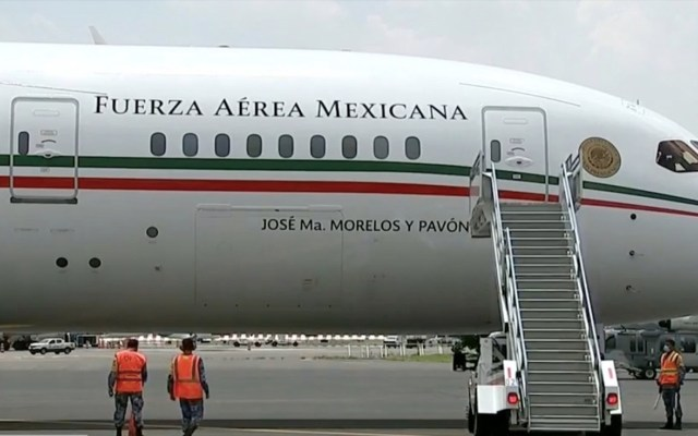 Tras 19 meses resguardado en California, el Avión Presidencial ya está en suelo mexicano - Captura de Pantalla.