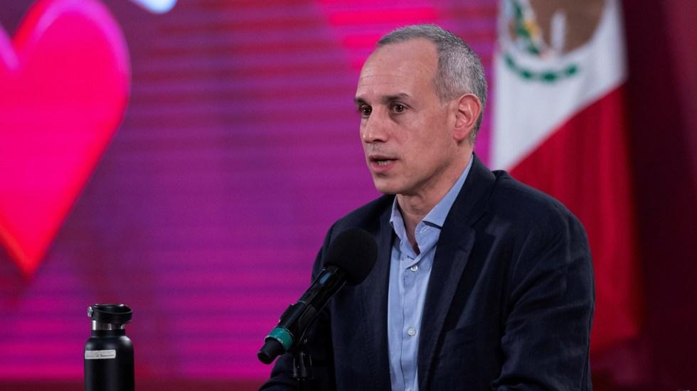 La prioridad es atender la pandemia con enfoque técnico, sostiene López-Gatell - Hugo López-Gatell Ramírez. Foto de EFE