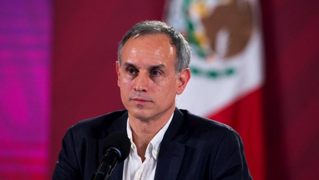 Apoyan dirigentes de oposición exigencia de renuncia de López-Gatell - Hugo López-Gatell, subsecretario de Salud. Foto de EFE/Presidencia de México.