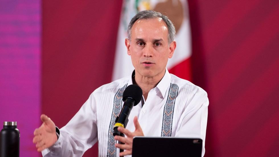 """""""Ojalá podamos seguir colaborando como hasta ahora"""", pide López-Gatell a gobernadores que exigen su renuncia - Hugo López-Gatell, subsecretario de Prevención y Promoción de la Salud. Foto de @HLGatell"""