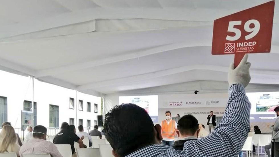 INDEP recauda más de 14 millones de pesos en cuarta subasta - Indep subasta México Los Pinos