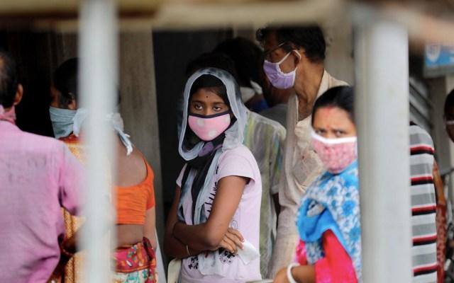 Con 97 mil 570 casos confirmados, India continúa rompiendo récord de contagios en 24 horas - Foto de EFE