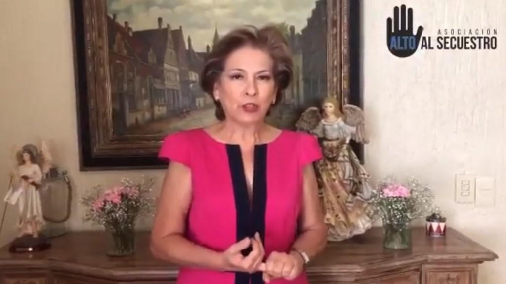 Isabel Miranda de Wallace denuncia secuestro de su abogado - Isabel Miranda de Wallace. Captura de pantalla / @WallaceIsabel
