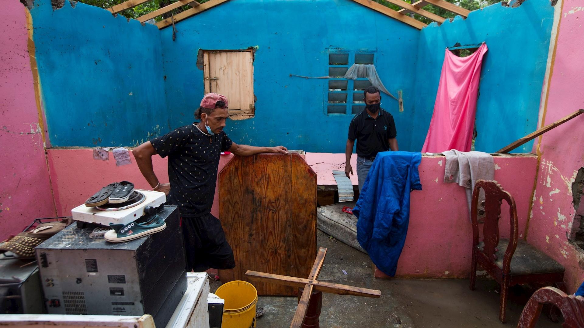 Isaías República Dominicana huracán 2