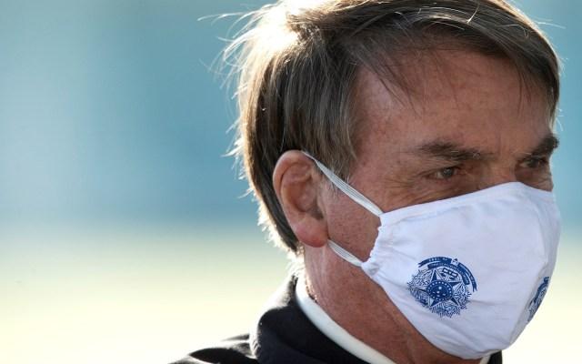 """Bolsonaro dice que tuvo """"moho"""" en los pulmones tras COVID-19 - El presidente de Brasil, Jair Bolsonaro. Foto de EFE/ Joédson Alves/Archivo."""
