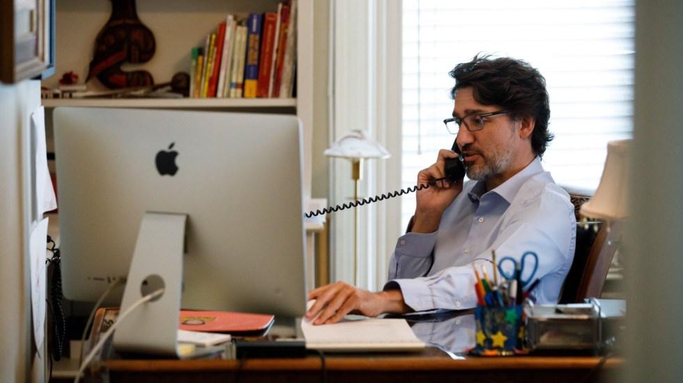 Justin Trudeau se apresura a felicitar a Joe Biden por su victoria - Justin Trudeau Canadá primer ministro