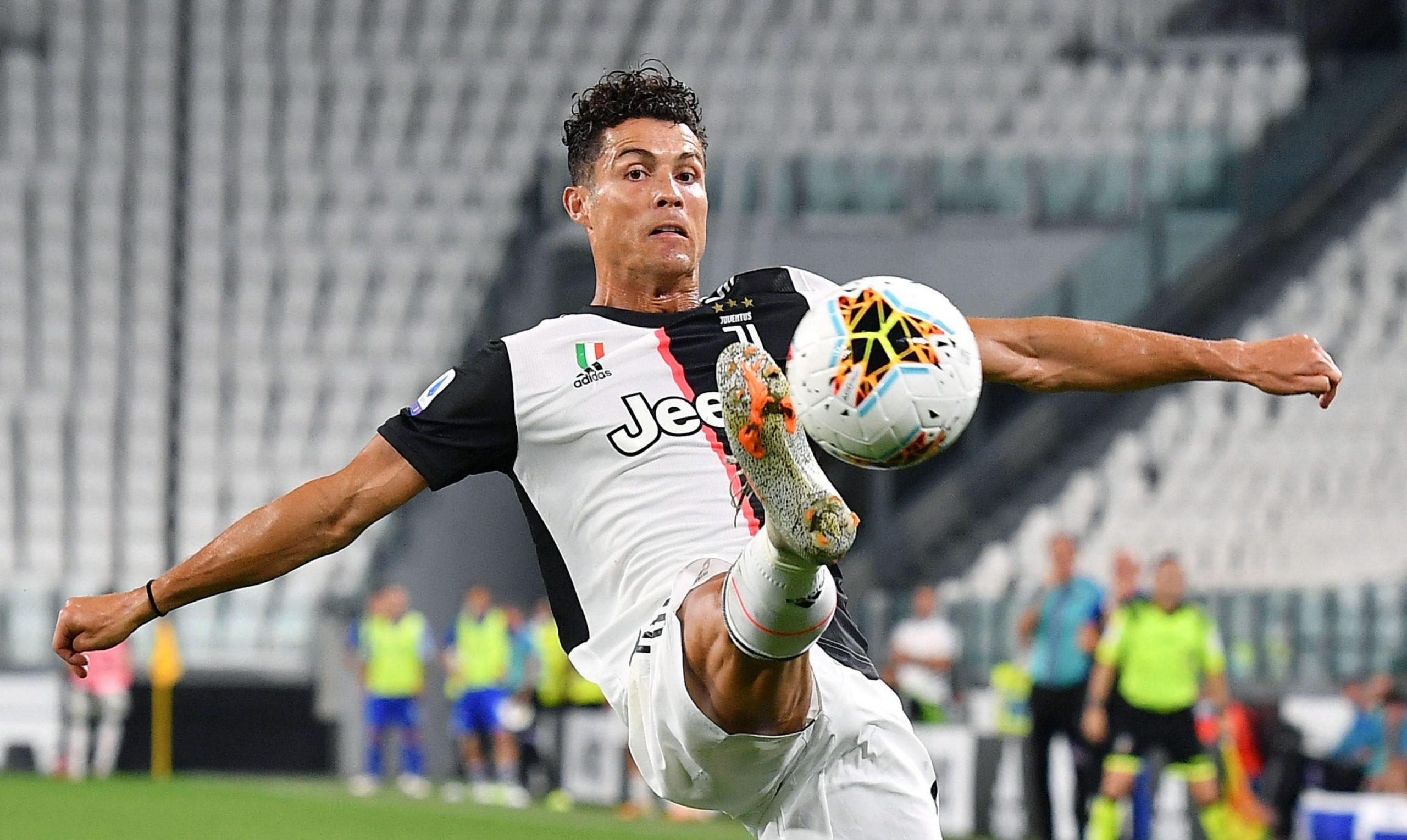 Cristiano Ronaldo. Foto de EFE/ EPA/ ALESSANDRO DI MARCO.