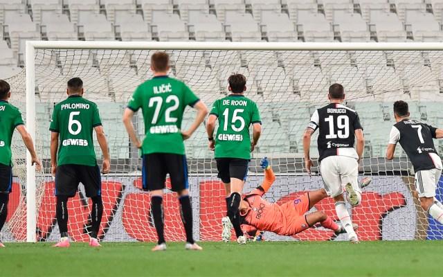 Doblete de penalti de Cristiano rescata empate de Juventus contra Atalanta - Juventus vs Atalanta