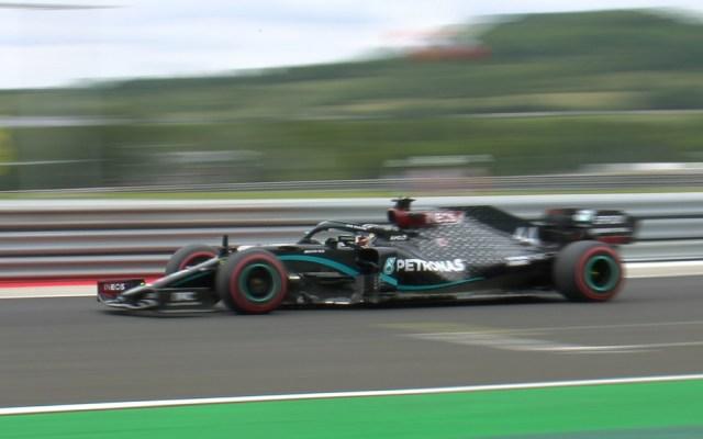 Hamilton lideró el primer libre del GP de Hungría; 'Checo' Pérez fue tercero - Foto de @F1