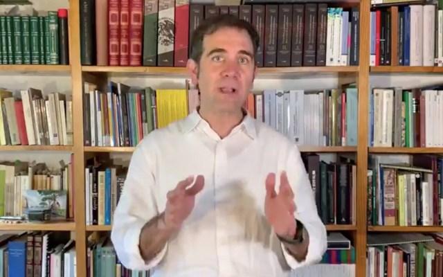 Fundamental mantener consenso hasta el final en designación de consejeros del INE, asegura Córdova - Captura de pantalla
