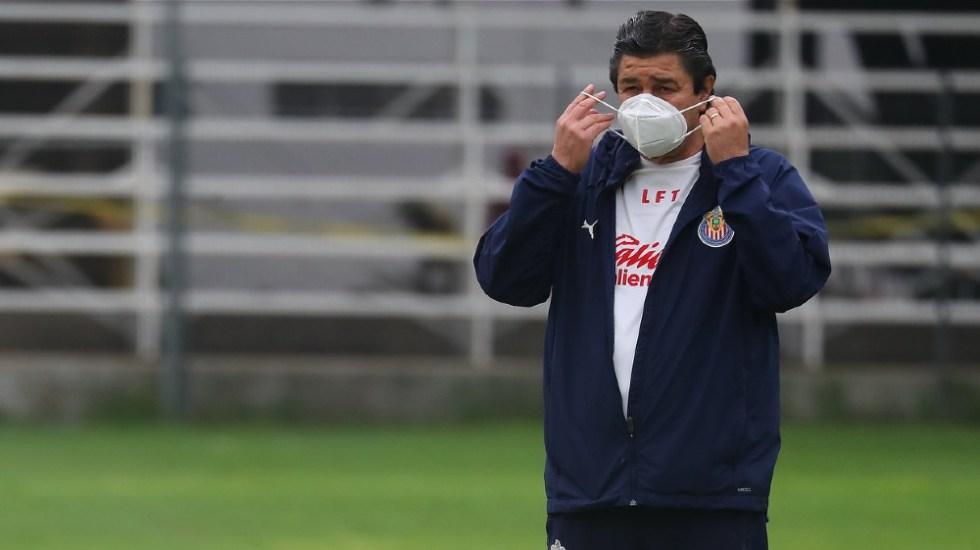 Luis Fernando Tena deja de ser técnico de Chivas - Foto de Chivas