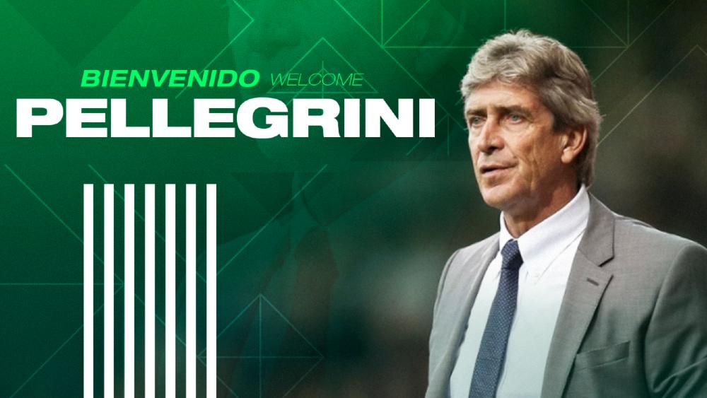 Manuel Pellegrini, entrenador del Betis hasta 2023 - Foto de Real Betis