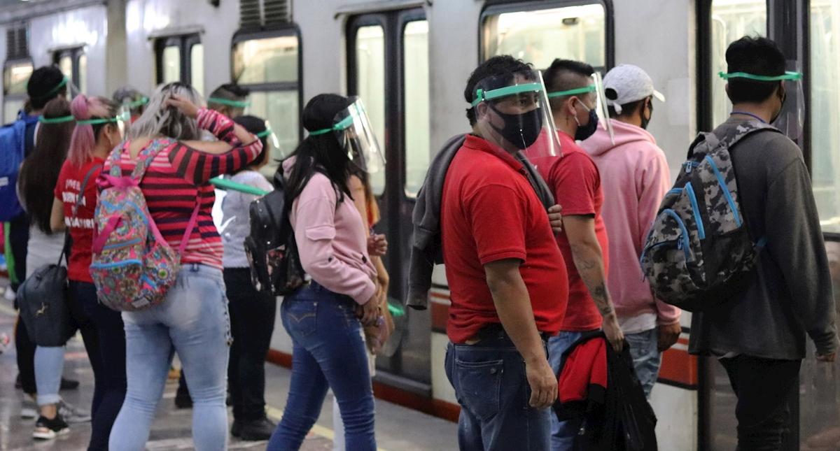 Metro Ciudad de México COVID-19 coronavirus