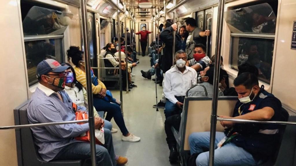 Las Líneas del Metro en las que los usuarios usan más el cubrebocas - Foto de Metro Ciudad de México