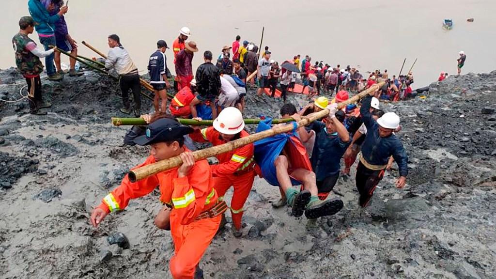 Avalancha en mina de jade de Myanmar deja al menos 162 muertos - mina jade Myanmar