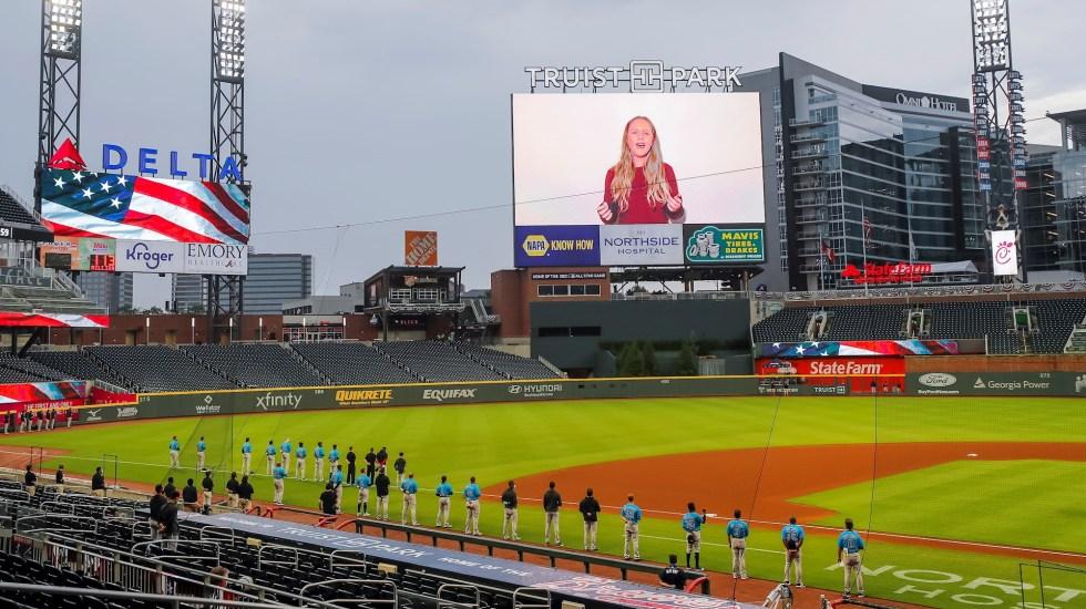 Brote de COVID-19 en Marlins obliga a MLB a aplazar dos partidos - MLB TruistPark beisbol Grandes Ligas