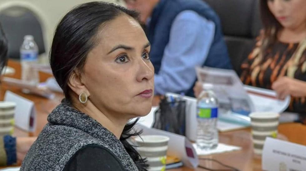 Nancy Sánchez se incorpora al Grupo Parlamentario de Morena - Foto de Facebook Nancy Sánchez Arredondo