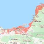 Incremento del nivel del mar pone en peligro a la Península de Yucatán