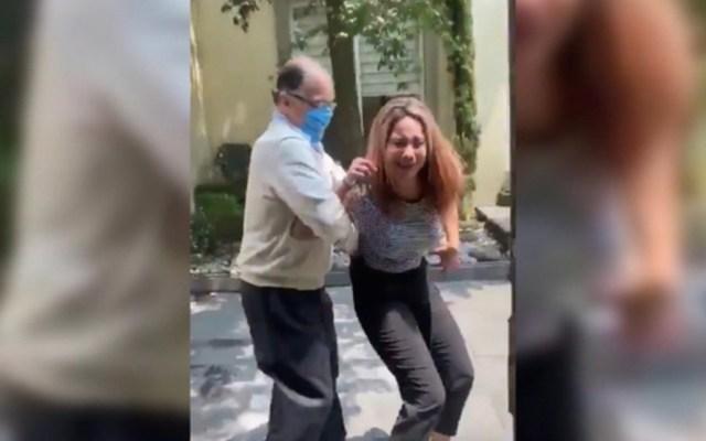 Revocan licencia al notario 102 del Estado de México, tras agredir físicamente a su esposa - Agresión del notario 102 a su pareja