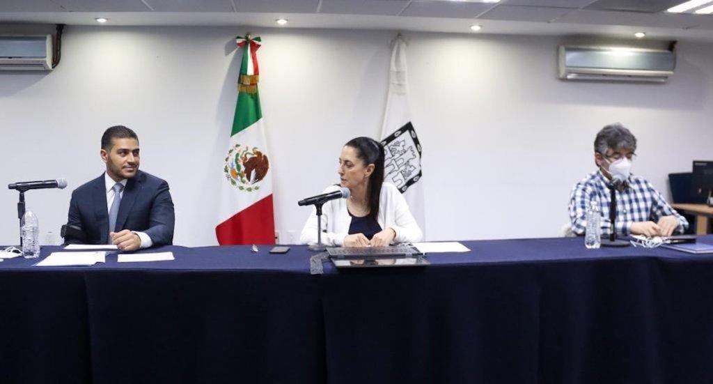 Se equivocan quienes piensan que debilitarán lucha contra la delincuencia en CDMX: García Harfuch - Foto de @Claudiashein