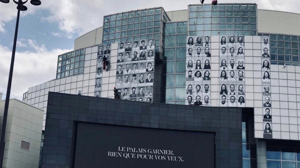 Ópera de París homenajeará a personal de salud que lucha contra el COVID-19 - Foto de @Ligne1_RATP