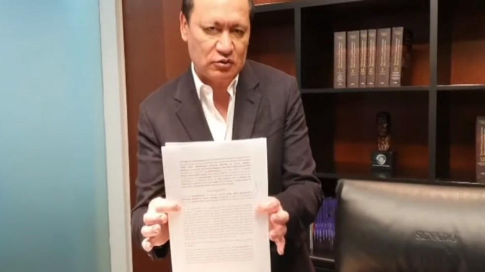 """""""Aquí estoy dando la cara"""", Osorio Chong rechaza poseer inmuebles en la Ciudad de México - Osorio Chong inmueble aclaración México"""