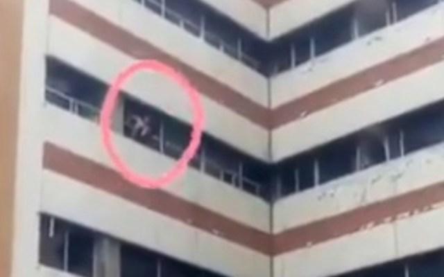 Frustran intento de suicidio de paciente en Hospital Parque de los Venados - Foto de @Soymemomartinez