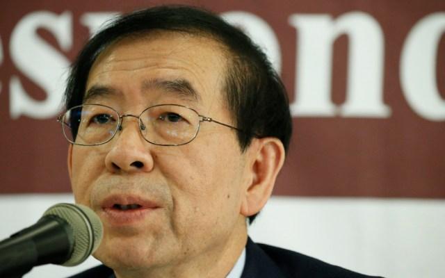 Policía halla el cadáver del alcalde de Seúl - El alcalde de Seúl, Park Won-soon. Foto de EFE