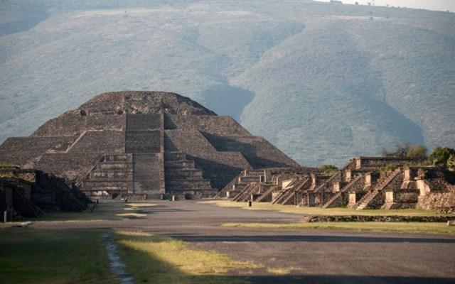 Teotihuacan comenzó con la Pirámide de la Luna, señala INAH - Pirámide de la Luna en Teotihuacán. Foto de INAH
