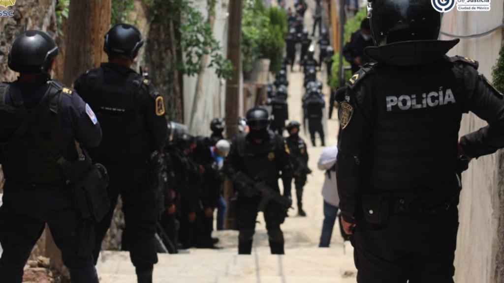 Disminución de delitos no quiere decir que hay satisfacción, hay que seguir trabajando: García Harfuch - Foto de Twitter Omar García Harfuch