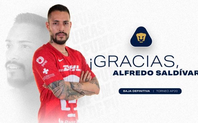 Pumas confirma salida de Alfredo 'Pollo' Saldívar - Alfredo 'Pollo' Saldívar