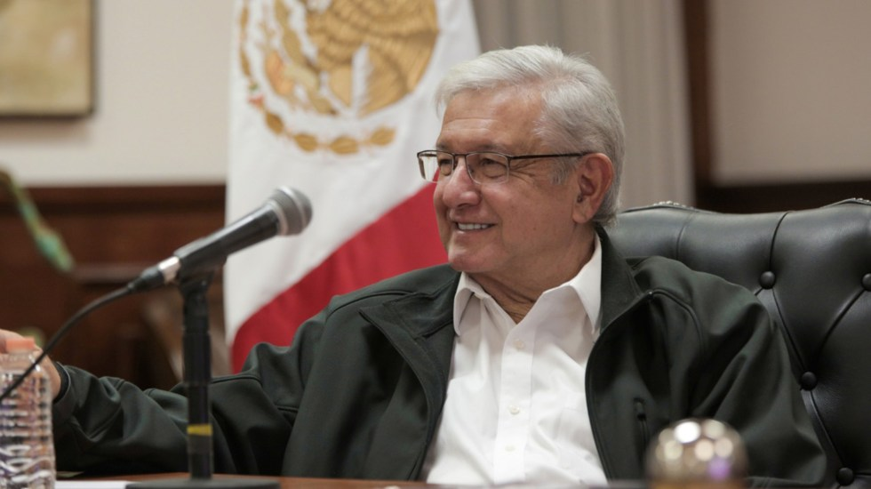 Bendito coraje; responde AMLO a periodistas e intelectuales - Presidente de México, Andrés Manuel López Obrador. Foto de @lopezobrador_