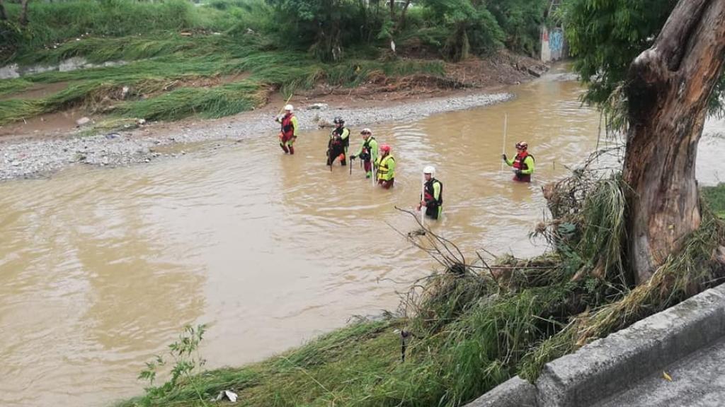Protección Civil Nuevo León rescate Hanna 2