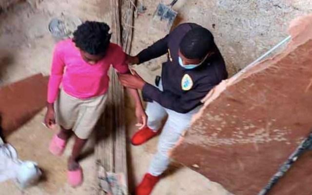 Rescatan a tres niñas permanecían amarradas dentro de cisterna en República Dominicana - Foto de Tele 9