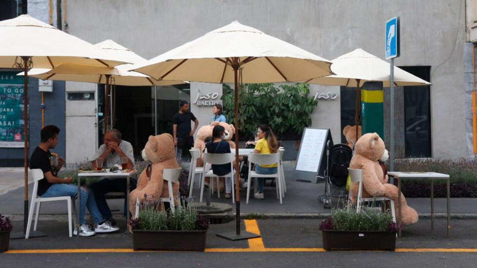 Ciudad de México otra vez en Semáforo Naranja, suma 14 semanas consecutivas; oficinas, hasta Semáforo Verde - Foto de EFE