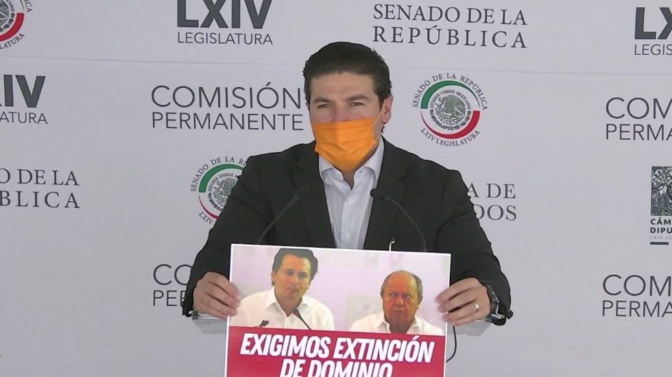 No se sabe si acusaciones contra Lozoya alcancen para que vaya a la cárcel: Samuel García - Captura de pantalla