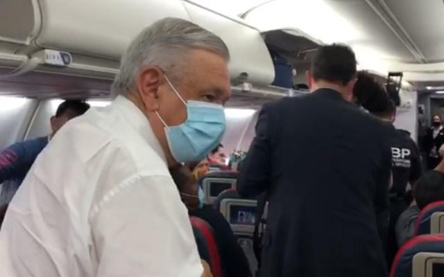 #Video Llega AMLO a Estados Unidos; hace escala en Atlanta y ya vuela a Washington - Servicio Secreto AMLO Estados Unidos